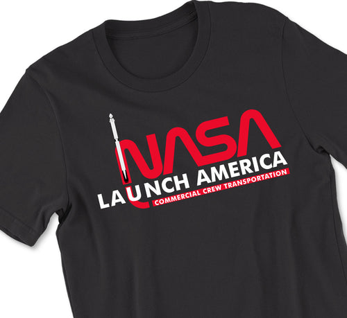 NASA Launch America Tshirt - Original