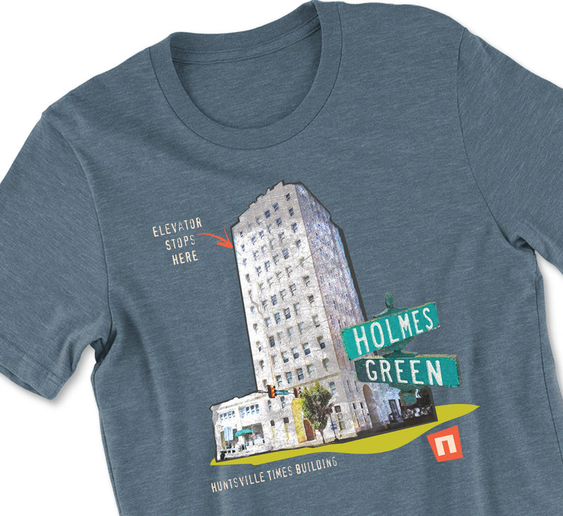 'One Short' Huntsville Times Building Tshirt