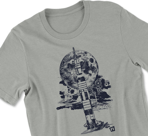 """To the Moon"" Huntsville Tshirt - NH"