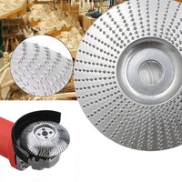 Angle grinding Disc Wood Grinding Wheel Wood Carving for Angle Tungsten Carbide Coating Bore Shaping Sanding Abrasive Tool - Yard Agri Supply