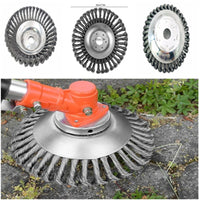 Steel Wire Trimmer Head Grass Brush Cutter Dust Removal Weeding Plate - Yard Agri Supply