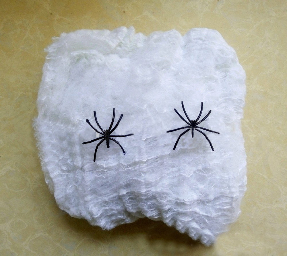 Halloween Decoration Spider Cotton Spider Web