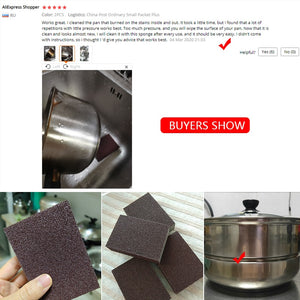 2/4/6Pcs Emery Cloth Melamine Sponge Magic Sponge Eraser Melamine Cleaner for Kitchen Office Bathroom Cleaning Nano Sponges