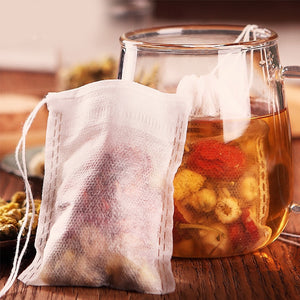 Kitchen. Teabags 5.5 x 7CM food grade Empty Scented Tea Bags Infuser With String Heal Seal Filter Paper for Herb Loose Tea Bolsas de tea
