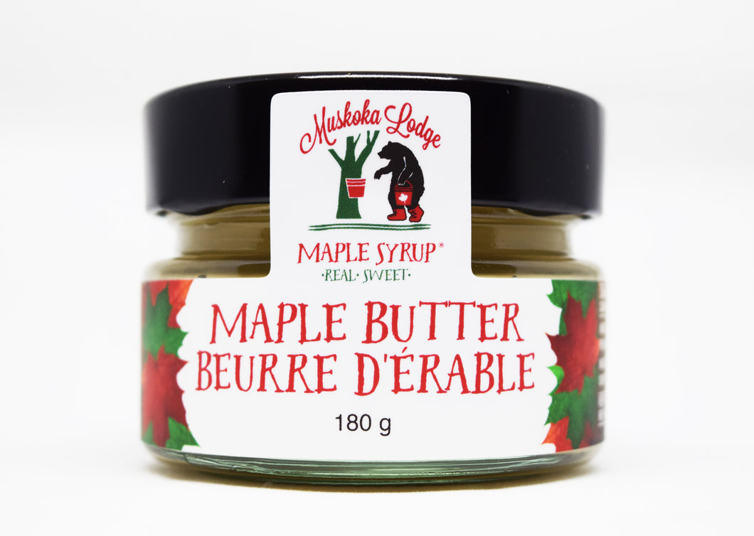 Muskoka Lodge Maple Butter 180g