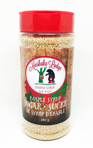 Muskoka Lodge Maple Syrup Sugar 260g