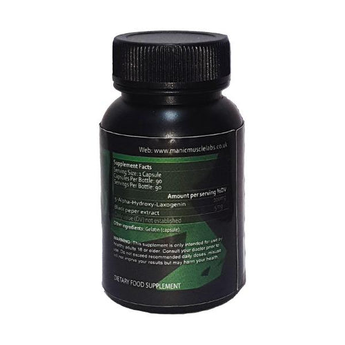 Manic Muscle Labs Hydroxy-bol (Laxogenin) 105mg 90 Capsules