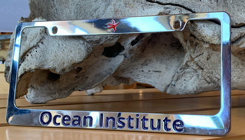 Ocean Institute License Plate Frame