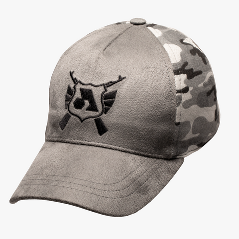 Arsenal Men's Split Camo Icon Cap, Gray Camo