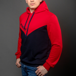 Arsenal Men's Sport Hoodie, Blue Red