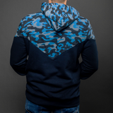 Arsenal Men's Ascend Hoodie, Blue Camo