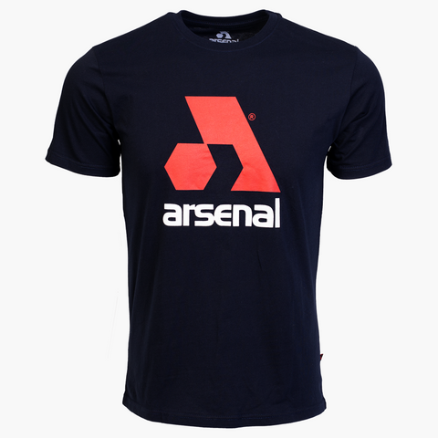 Arsenal Men's Logo Tee, Blue