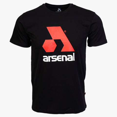 Arsenal Men's Logo Tee, Black