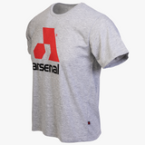 Arsenal Men's Logo Tee, Gray