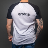 Arsenal Men's Retro Cotton Tee, White