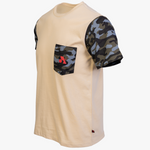Arsenal Men's Expedition Tee, Beige and Camo
