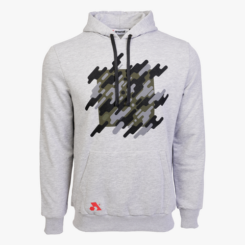Arsenal Men's Graphic Hoodie, Gray