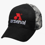 Arsenal Men's Split Camo Logo Cap, Black Camo