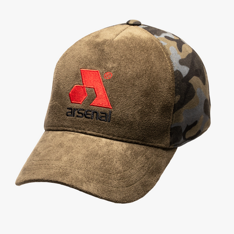 Arsenal Men's Traditional Split Cap, Green Camo