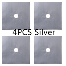 Load image into Gallery viewer, Gas Stove Protector - 4pcs silver