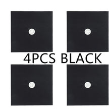 Load image into Gallery viewer, Gas Stove Protector - 4pcs black