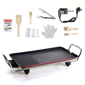 Barbecue Electric Raclette Grill - without Baking