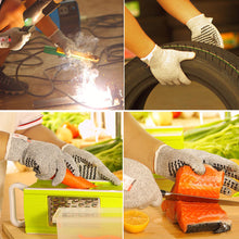 Load image into Gallery viewer, Professional Anti-cut Level 5 Cut-Resistant Non-slip Working Kitchen Gloves
