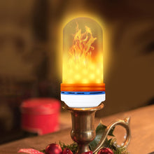 Load image into Gallery viewer, Vintage Flickering Flame Light Bulb