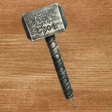 Load image into Gallery viewer, Thor Hammer Bottle Opener - Silver