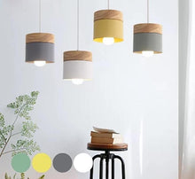 Load image into Gallery viewer, Woodern Pendent Light - Lime Home Decor