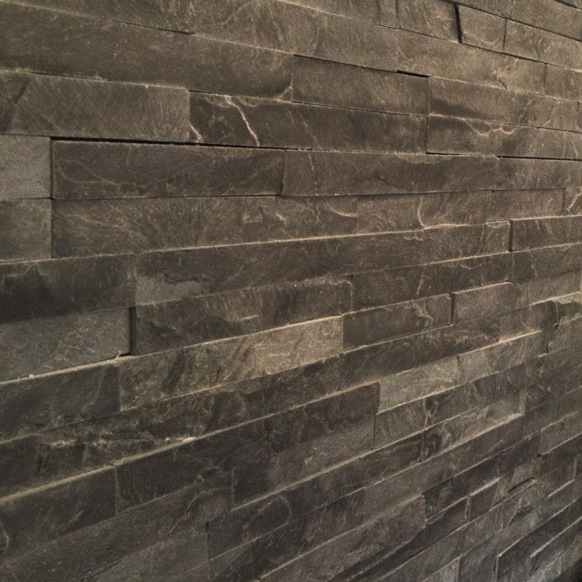 stone wall cladding black slate