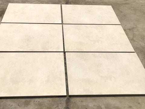 cement porcelain paving beige