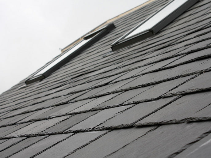 Natural Roofing Slate, Charcoal Grey Slate 500x250x5-7mm