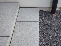 Arctic granite paving slabs