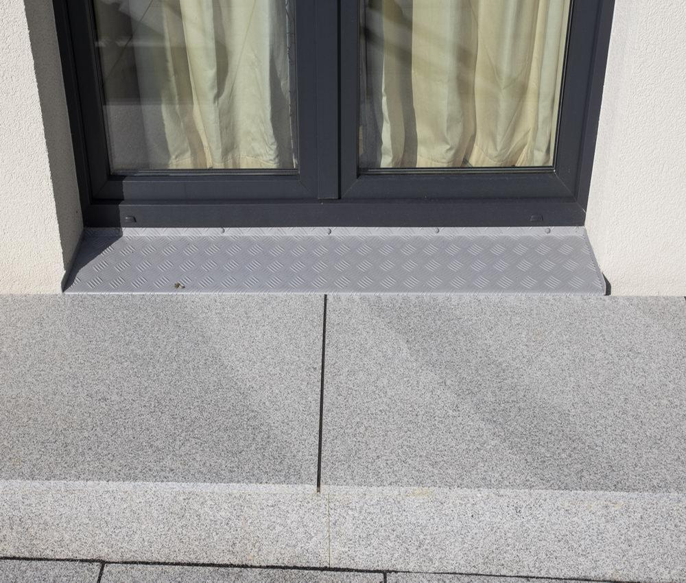 ice granite paving