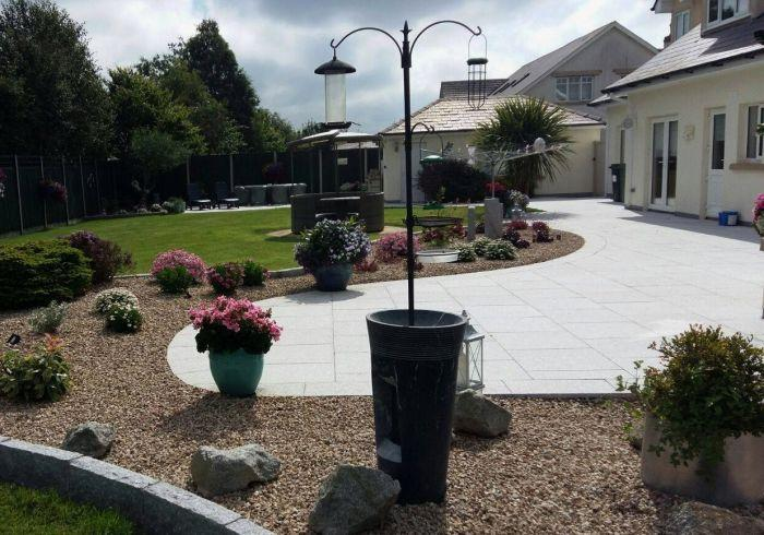 granite paving patio garden