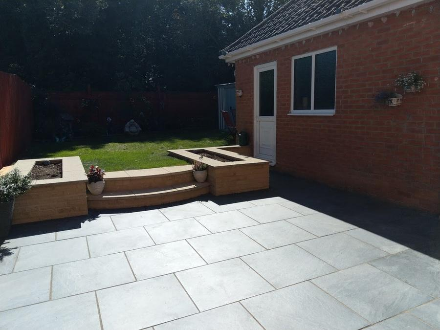 porcelain paving anthracite