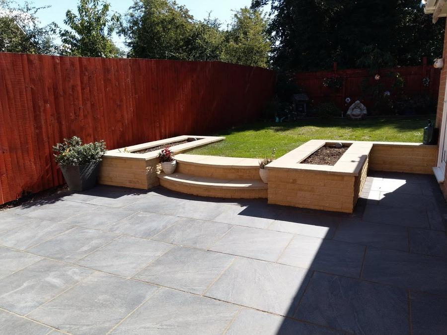 porcelain paving anthracite 600 x 600
