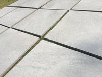 vitrified porcelain paving grey 600 x 600