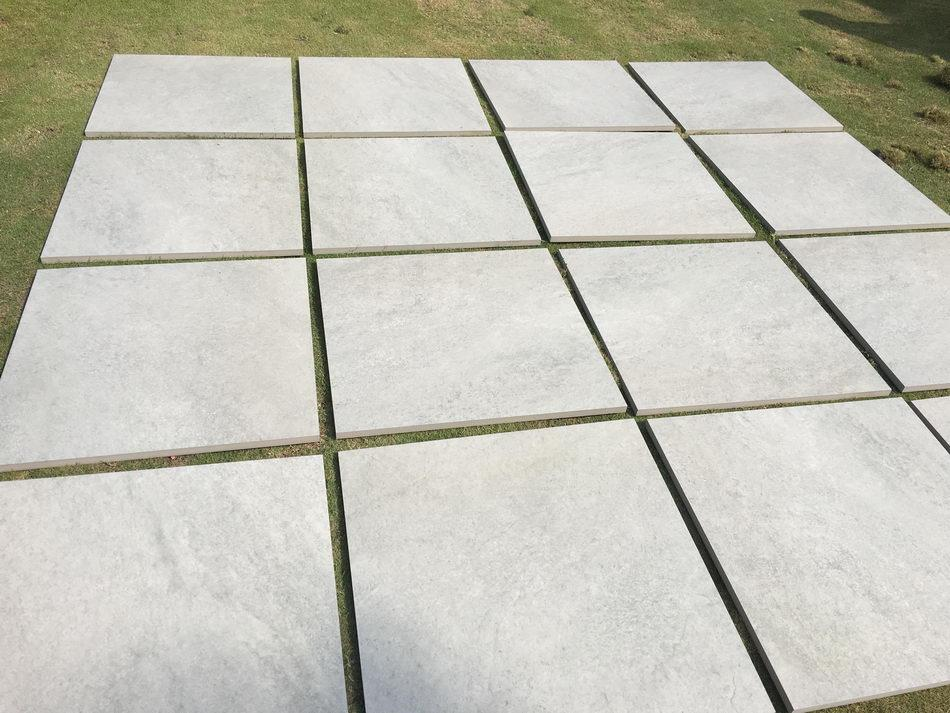 20mm outdoor porcelain tiles grey 600 x 600