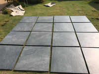 Nero Outdoor Porcelain Paving Slabs