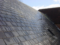 Natural Roofing Slate, Charcoal Grey Slate 500x250x7-9mm