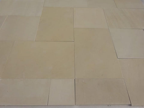 sawn honed sandstone paving patio packs