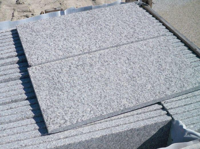 granite paving textured