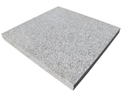 silver grey granite paving 600 x 600