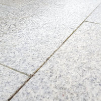 silver grey granite paving texture