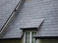 Natural Roofing Slate, Charcoal Grey Slate 600x300x7-9mm