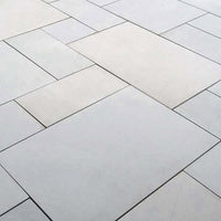 smooth sandstone patio paving slabs