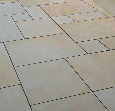 smooth sandstone, patio paving slabs