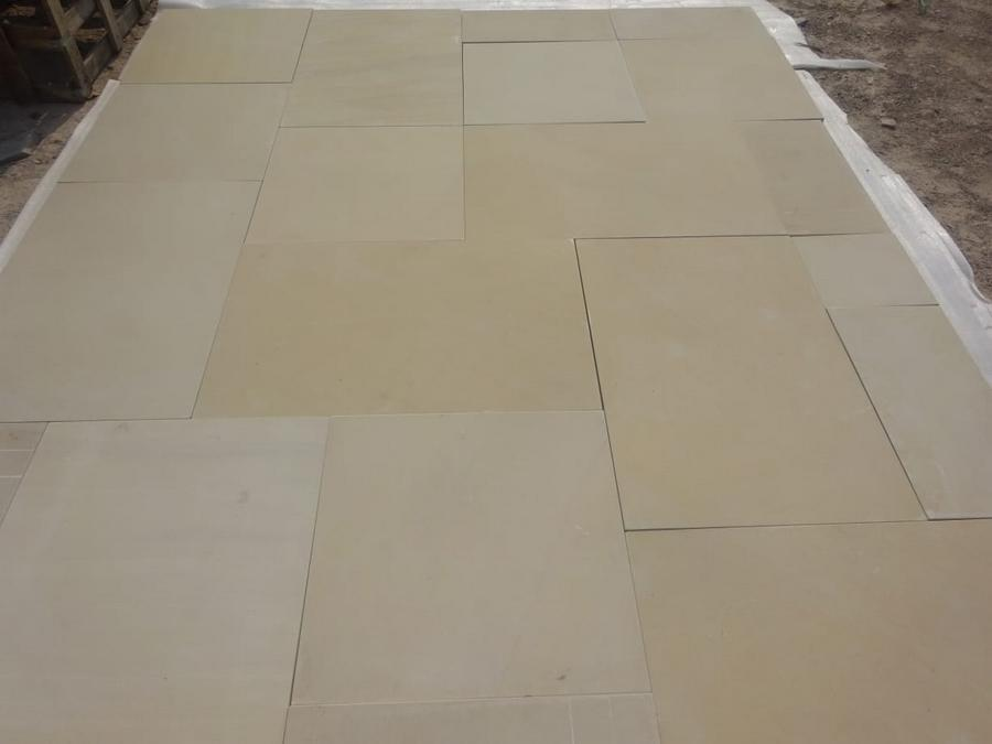 smooth sandstone paving Mint
